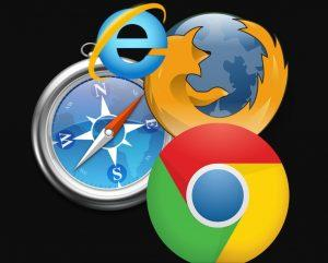 chrome or firefox